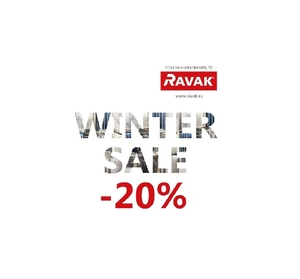 От компании RAVAK новая акция WINTER SALE 20%