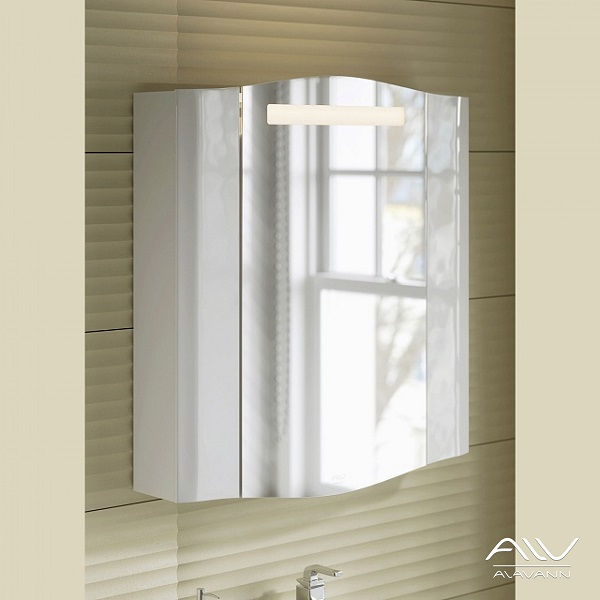 Зеркало-шкаф Alavann Silvia 70