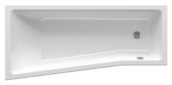 Акриловая ванна Ravak BeHappy II 170х75 правая