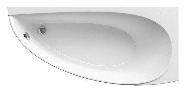 Акриловая ванна Ravak Avocado 160х75 правая