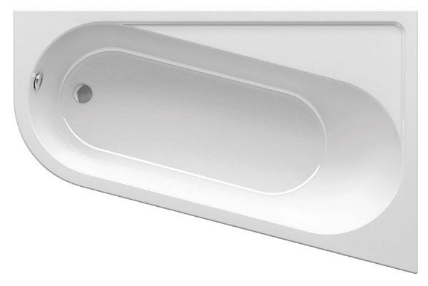 Акриловая ванна Ravak Chrome 170х105 правая