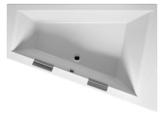 Акриловая ванна Riho Doppio 180х130 левая