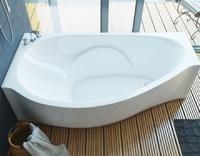 Мраморная ванна Эстет Грация 170х94 левая