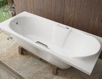 Мраморная ванна Эстет Камелия 180х75
