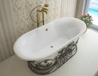 Мраморная ванна Эстет Лион 174х80