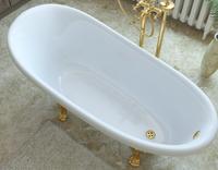 Мраморная ванна Эстет Марсель 170х80
