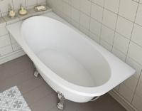 Мраморная ванна Эстет Венеция 170х80 левая