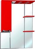 Зеркало-шкаф Bellezza Белла Люкс 75 L красный