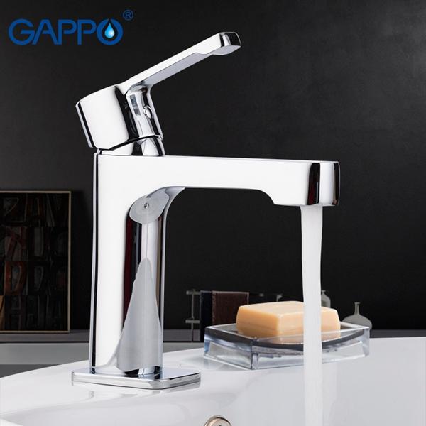 Смеситель для раковины Gappo Tomahawk G1002-2