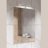 Зеркало Alavann Soft Silver 60