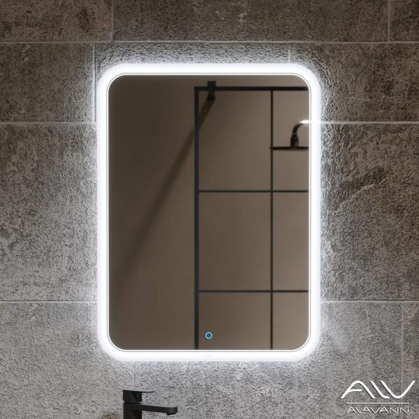 Зеркало-шкаф Alavann Layra 100 белое