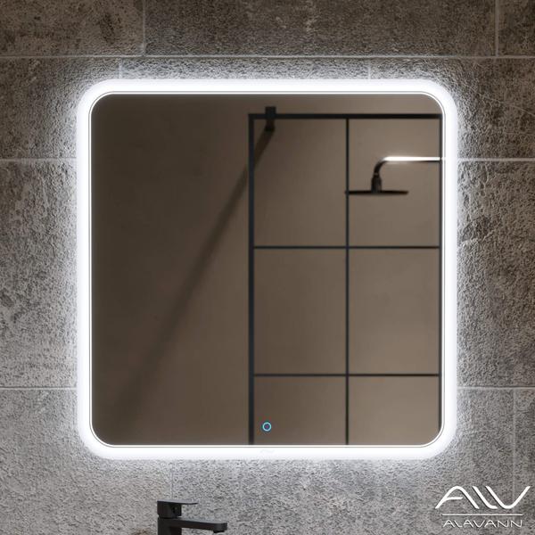 Зеркало-шкаф Alavann Layra 100 черное