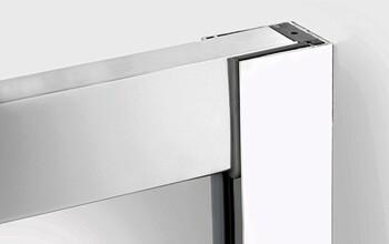 Зеркало-шкаф Alavann Largo 80 белое