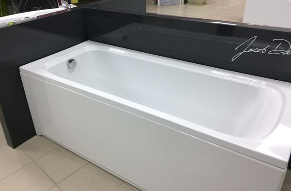 Мраморная ванна Jacob Delafon Elite 170х75