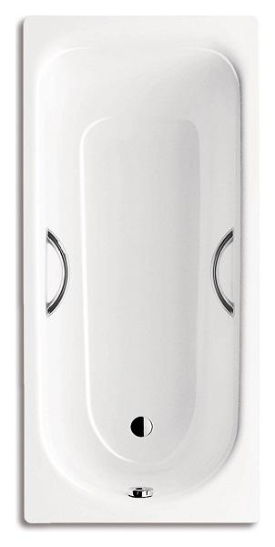 Стальная ванна Kaldewei Advantage Saniform Plus Star 336 с покрытием Anti-Slip