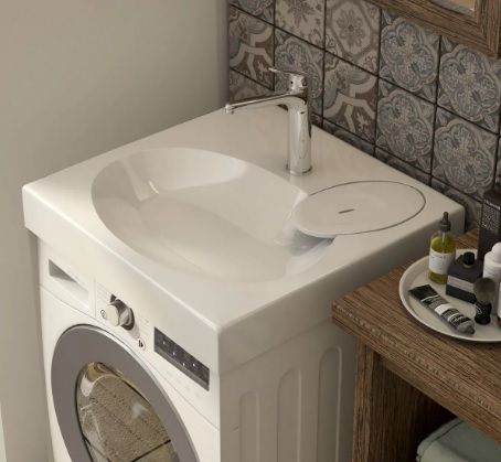 Раковина над стиральной машиной Эстет Lea 55