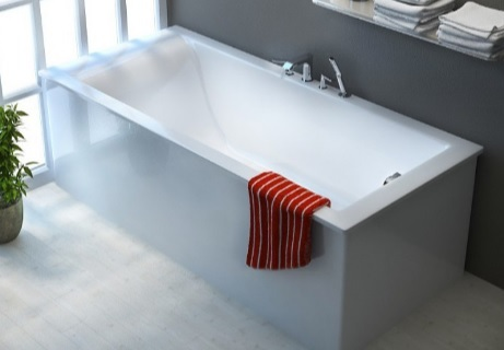 Мраморная ванна Астра-Форм Нейт 180х80