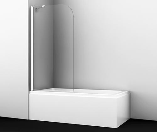 Шторка на ванну Wasserkraft Leine 35P01-80 Fixed