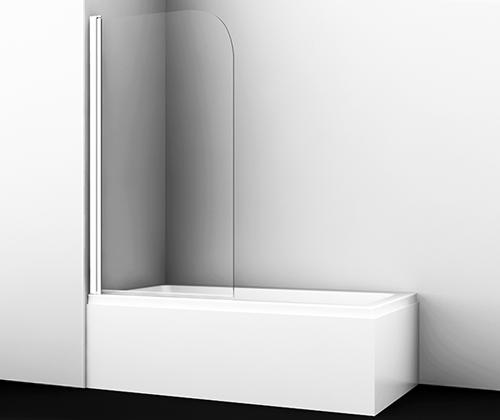 Шторка на ванну Wasserkraft Leine 35P01-80 White