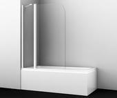 Шторка на ванну Wasserkraft Leine 35P02-110 Fixed White