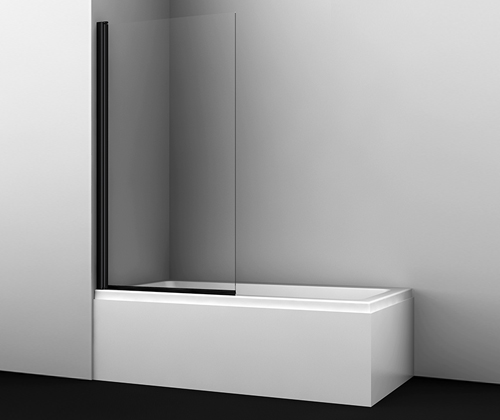 Шторка на ванну Wasserkraft Berkel 48P01-80 Black