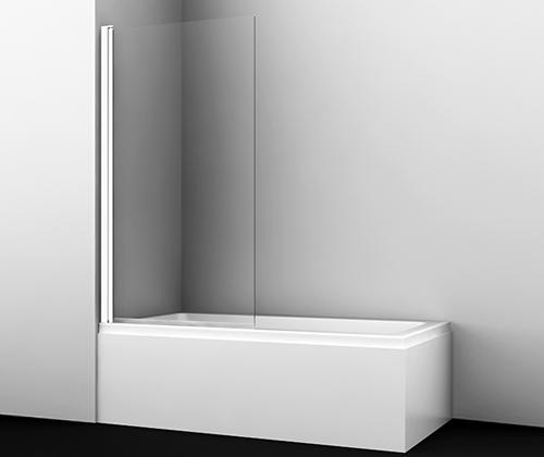 Шторка на ванну Wasserkraft Berkel 48P01-80 White