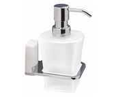 Дозатор для жидкого мыла Wasserkraft Leine K-5099 White