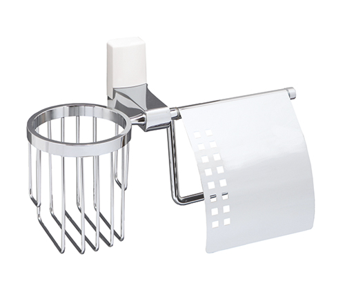 Держатель туалетной бумаги Wasserkraft Leine K-5059 White