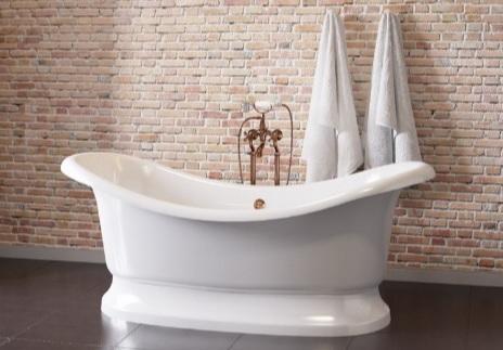 Мраморная ванна Астра-Форм Мальборо 189х87