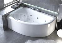 Мраморная ванна Астра-Форм Анастасия 182х125 левая