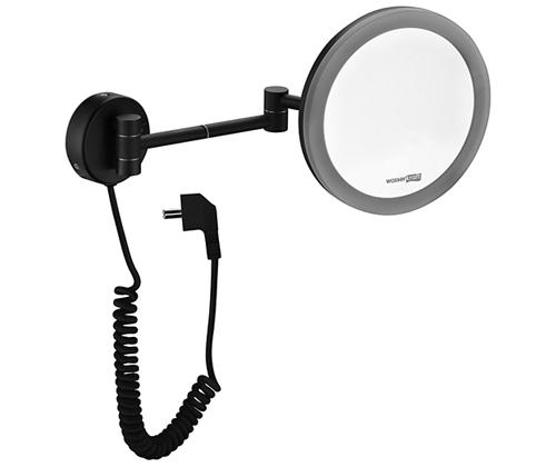 Зеркало косметическое Wasserkraft K-1004 Black