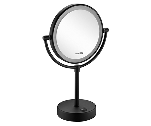 Зеркало косметическое Wasserkraft K-1005 Black