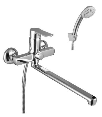 Смеситель для ванны Lemark Grace LM1551C