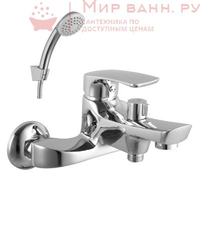 Смеситель для ванны Lemark Shape LM1712C