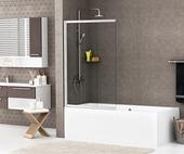 Шторка на ванну Wasserkraft Main 41S02-100 Schutz