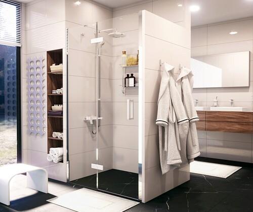 Душевая дверь Wasserkraft Aller White 10H05L