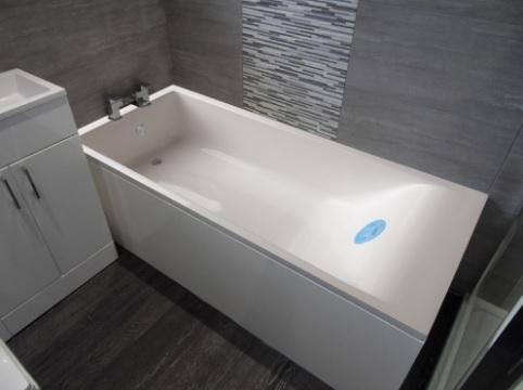 Мраморная ванна Marmo Bagno Алесса 180х80
