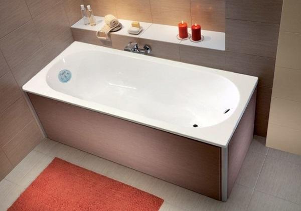 Мраморная ванна Marmo Bagno Лючия 180х80