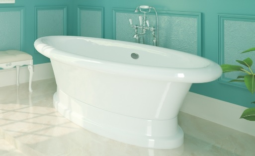 Мраморная ванна Marmo Bagno Аззуро 180х90