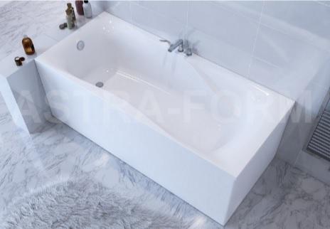 Мраморная ванна Астра-Форм Вега Люкс 170х80