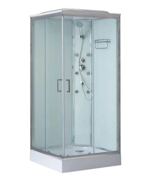 Душевая кабина BelBagno UNO-CAB-A-2-80-C-Cr-TOP