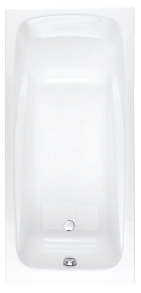 Ванна чугунная Jacob Delafon Repos 170х80 без антискольжения