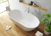 Мраморная ванна Эстет Майами 180х78