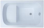 Акриловая ванна Aquanet Seed 120х70