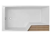 Акриловая ванна Jacob Delafon Bain-Douche Neo 160х90 L