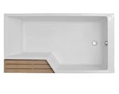 Акриловая ванна Jacob Delafon Bain-Douche Neo 170х90 R