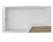 Акриловая ванна Jacob Delafon Bain-Douche Neo 170х90 L