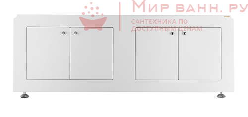 Экран под ванну Vod-ok Олимп 180 белый
