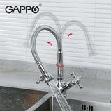 Смеситель для кухни Gappo G4089