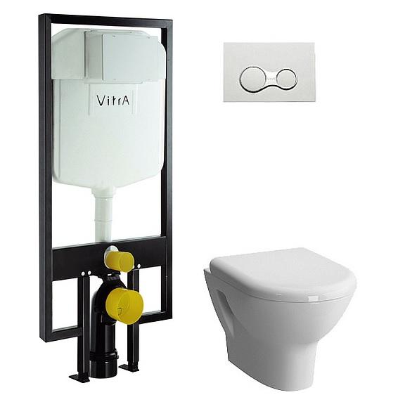 Инсталляция с унитазом VitrA Zentrum 9012B003-7206
